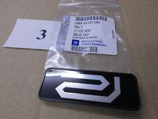 """Emblema/Logo """"R"""" (Riviera) OPEL ASTRA G ZAFIRA A 93181185/1103305 ORIGINALE OPEL"""