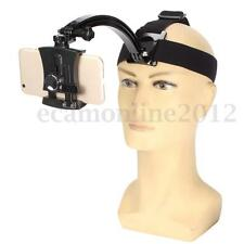 Adjustable Head Band Strap Phone Holder Stand W/ Extension Arm For iPhone GoPro