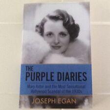 "Mary Astor Scandal ""The Purple Diaries"" 1930 Hollywood Custody Affairs SC"
