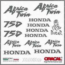 16x Kit HONDA Africa Twin XRV 750 Grey ADESIVI PEGATINA STICKERS AUTOCOLLANT