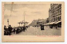 CANADA carte postale ancienne QUEBEC Dufferin terrace promenade