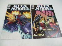 2 Blue King Studio Comics City of Heroes 2004