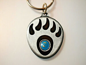 Bear Paw Keychain - Vintage