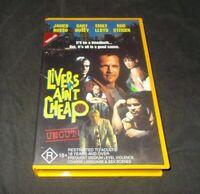 Livers Ain't Cheap VHS Pal James Russo Gary Busey UNCUT