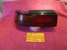 1992-1997 SUBARU SVX FACTORY OEM DRIVER OUTER TAILLIGHT ASSEMBLY FREE SHIPPING