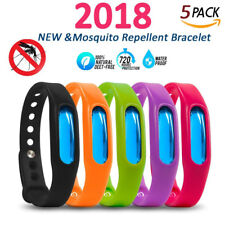Anti Mosquito Pest Insect Bugs Repellent Wrist Band Bracelet Anti Insect 5Pcs