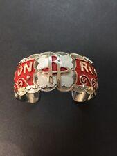 Rockets Cuff Stunning Work #2 Native American Navajo Women's Bracelet Houston
