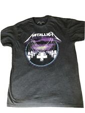 METALLICA Branded T-SHIRT MASTER OF PUPPETS .SIZE Large , Grey . Never Worn