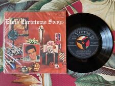 """ELVIS PRESLEY CHRISTMAS SONGS 6track EP-1334 JAPAN 7"""""""