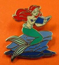 Disney Pin  Story Time - Little Mermaid Princess Ariel Reading a Book