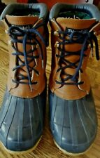 Colorado Thinsulate Steel Shank Therma Insulation Leather Rubber Boot 8-8.5 SZ 6