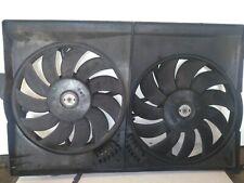 Saab 9-3 Vector 2.2 TiD 2004 Radiator A/C Cooling Fans 24410989