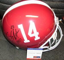 Shaun Alexander Alabama Crimson Tide Signed Full Size Helmet Psa/Dna Coa Ab59131