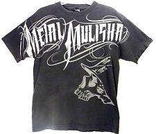 Metal Mulisha Skull Tattoo Art Print T Shirt Motocross Energy Men Sz Med Black