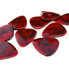 Timber Tones Stone Tone Guitar Pick - Bloody basin jasper - Luxury Plectrum