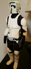 "Star Wars 1:6 Custom Return of the Jedi Biker Scout 12"" Action Figure Doll"