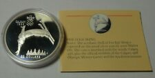 1988 CALGARY OLYMPICS CANADA 20 DOLLARS SILVER PROOF FREESTYLE SKI JUMPER