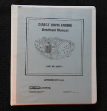 1966-1996 LYCOMING DIRECT DRIVE 6 & 8 CYLINDER AIRCRAFT AIRPLANE ENGINE OVERHAUL
