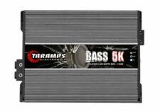 TARAMPS BASS 5K 5000 AMPLIFIER 5000 WATTS RMS CLASS D MONO 1-OHM FREE SHIPPING