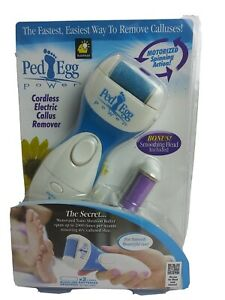 Ped Egg Cordless Electric Callus Remover As Seen On TV