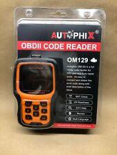 Autophix OM129 OBD2 Code Reader Scanner Diagnostic Check Engine Battery Voltage