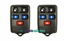 2X Remote Key Fob Shell Case Fix for 2003 2004 2005 2006 2007 Lincoln Navigator