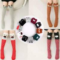 Womens Cute 3D Lovely Cartoon Animals Thigh Stockings Over Knee High Long Socks