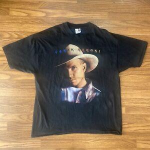 Vintage Garth Brooks Fresh Horses Tour 1996 Mens XL Graphic Country T Shirt