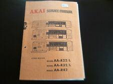 Original Service Manual Schaltplan Akai AA-R22/L R32/LR42
