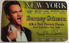 Barney Stinson - Neil Patrick Harris - How I Met Your Mother - Drivers License