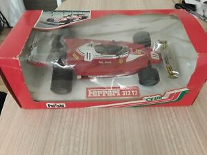 1977  Rare boxed Polistil GG4 F1 Niki Lauda Ferrari 312T2 1/18 Twin Rear Wheels