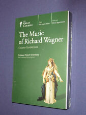 Teaching Co Great Courses DVDs        MUSIC of RICHARD WAGNER       new & sealed