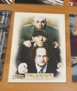 THREE STOOGES PROMO TRADING CARD BY BREYGENT...PROMO-1 NM