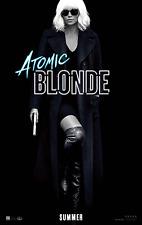 Atomic Blonde Movie Poster (24x36) - Charlize Theron, James McAvoy, Boutella