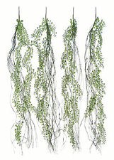 """4 x Peperomia Ivies - 35"""" (89cm) - Imitation Plants Artificial Hanging Ivy Vines"""