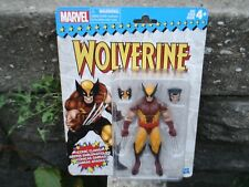MARVEL LEGENDS RETRO SERIES WOLVERINE HASBRO BROWN SUIT BRAND NEW AND SEALED