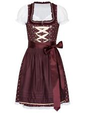 NEU! Schönes 3tlg Dirndl, Bluse, Kleid und Schürze Midi Göße 36-42 Trachtenkleid