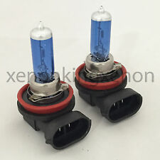 H11 55W White Xenon Halogen 5000K 12V Headlight 2x Light Lamp Bulbs #t2 Low Beam