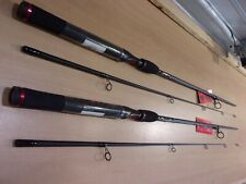 2 SHAKESPEARE UGLY STIK GX2  6 foot 6 inch two piece spinning rods  #USSP662M