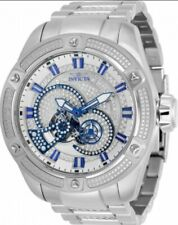 Invicta Diamond Bolt Predator Open Heart Automatic Watch Gorgeous 3D Ice Layers!