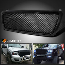 2004 2008 Ford F150 F 150 Black Mesh Front Replacement Grill Grille Fits 2007
