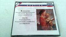 "OPERA ""ROSSINI PETITE MESSE SOLENNELLE"" 2 CD 421 645-2 FRENI PAVAROTTI VALENTINI"