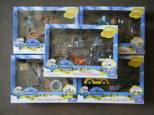2011 THE SMURF MOVIE MOMENT ADVENTURE PACK SET OF 5 LOT  *NEW*