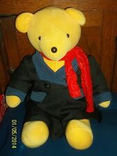 NORTH AMERICAN BEAR CO YELLOW BEARY POPPINS TEDDY BEAR PLUSH DOLL