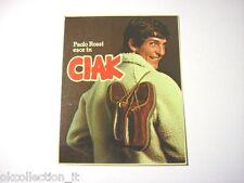 VECCHIO ADESIVO / Old Sticker CALCIO PAOLO ROSSI JUVENTUS SCARPE (cm 7,5 x 9,5)