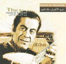 King of Oud Orient; Farid el Atrache 2001 CD, al-Atrash, Arabic, Egyptian, EMI A
