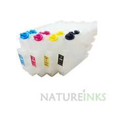 4 empty Refill GC41 GC 41 Ink Cartridges in use Ricoh sublimation printer