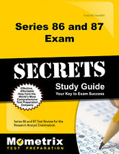 Series 86 and 87 Exam Secrets Study Guide