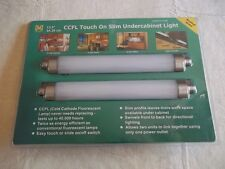 CCFL TOUCH ON UNDER CABINET LIGHT NEW MEGA BRIGHT BRUSHED NICKEL