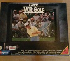 Epyx Vcr Golf from 1988, Complete
